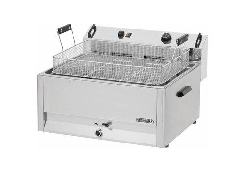 Casselin Friteuse à Beignets Électrique | 30L | L 670 x P 650 x H 370 mm | 15 kW