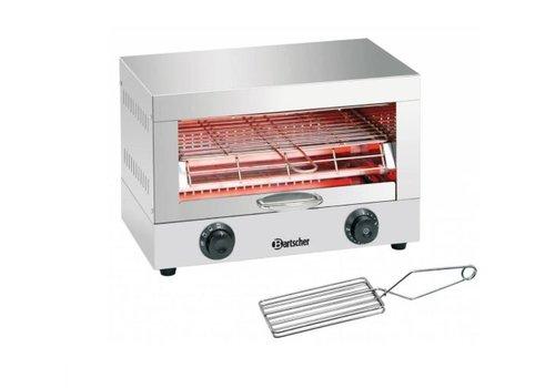 Bartscher Appareil toaster/gratiner | 1,7 kW | 440 x 260 x 290 mm