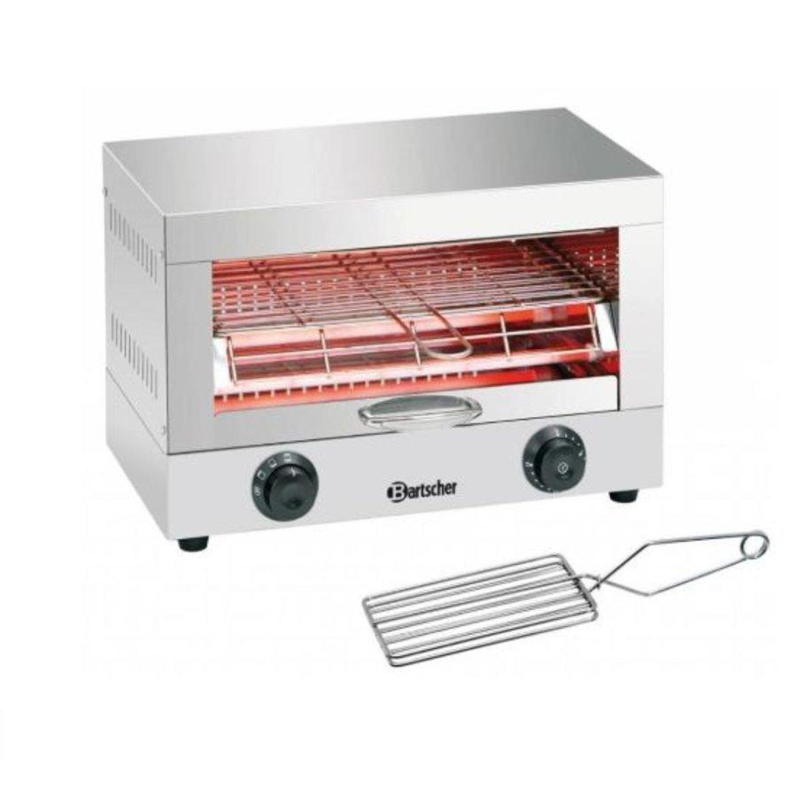 Appareil toaster/gratiner   1,7 kW   440 x 260 x 290 mm