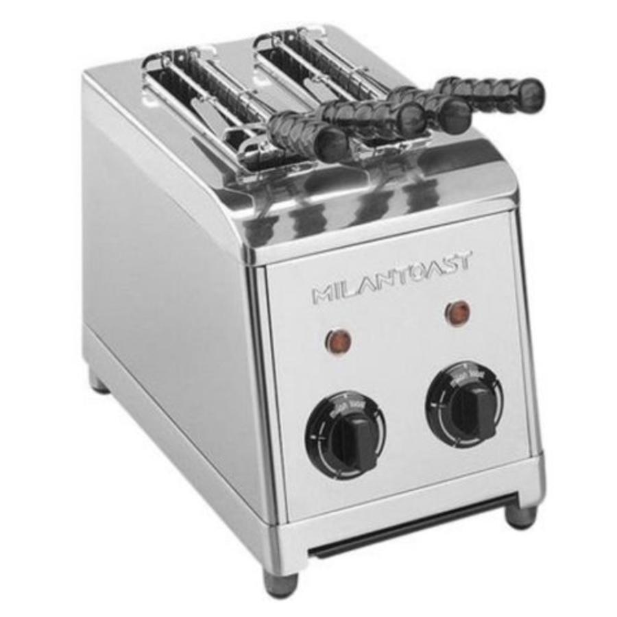 Mini Toast | Acier inoxydable |  2 pinces