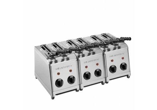 Milan Toast  Grille-pain Horeca | 6 coupes | 3,6 kW | 555 x 300 x 300 mm