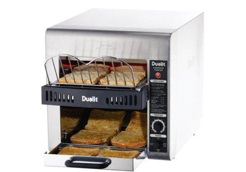 Dualit Toaster à convoyeur Turbo | 400(H)x 370(L)x 640(P)mm | 2,8 kW
