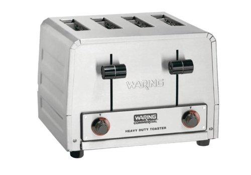 Waring grille-pain professionnel 4 emplacements | 22.9 (h) x 30.4 (b) x 26.7 (d) cm | 230 V