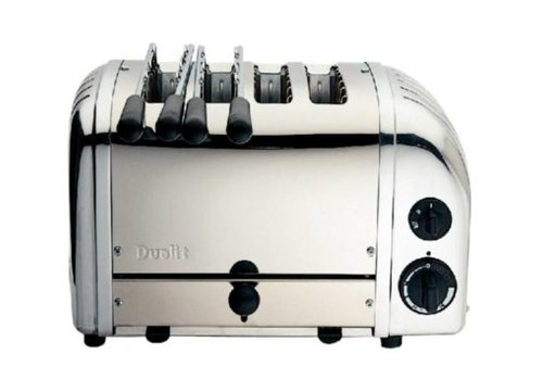 Dualit Toaster 4 tranches 2x2 Vario Dualit 42174 | 210(H) x 360(L) x 220(P)mm | 2,2 kW