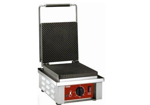 Diamond Gaufrier électrique pour | feuille gaufrée à cornet | 0 à 300°C