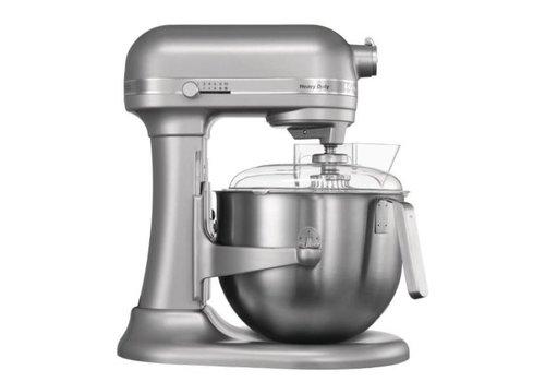 Kitchenaid Mixeur professionnel gris métal | 6,9L | 417(H)x 287(L)x 371(P)mm