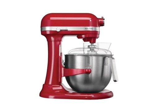 Kitchenaid Mixeur professionnel rouge | 6,9L | 417(H)x 287(L)x 371(P)mm