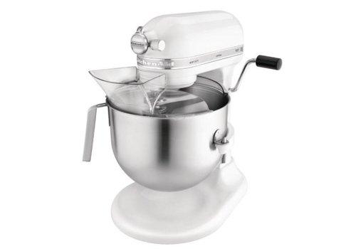Kitchenaid Mixeur professionnel blanc | 417(H)x 287(L)x 371(P)mm