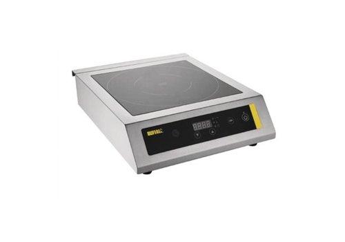 Buffalo Plaque induction professionnelle | Vitrocéramique | 3kW | 120(H) x 390(L) x 490(P)mm