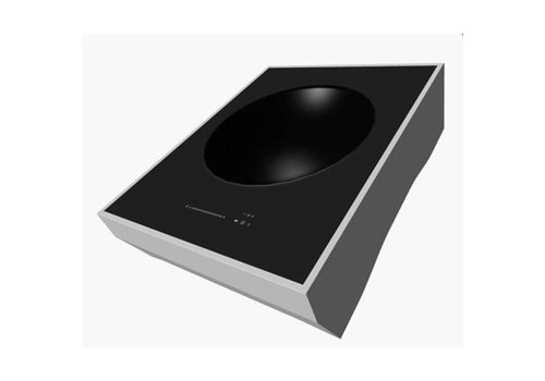 ProChef Plaque à induction | Wok | 3.200W / 230V avec plateau | 520x400x156mm