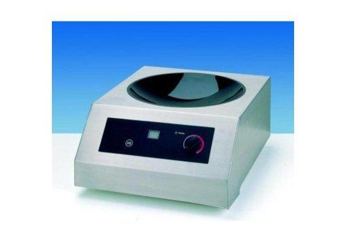 Saro Wok à induction | modèle coldfire | 3.5 kW | 385 x 520 x H 245 mm
