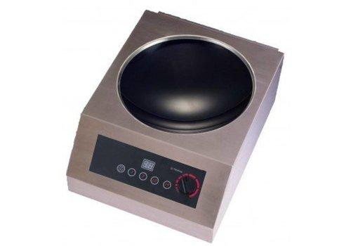 Saro Wok à induction | modèle Coldfire | 5 kW | L 385 x P 520 x H 243 mm
