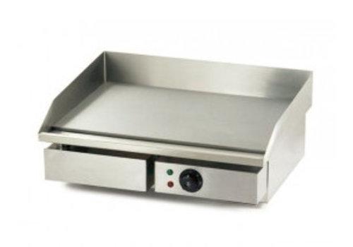 Combisteel Plaque de cuisson   Grill électrique   Plaque lisse   550 x 470 x 230  mm
