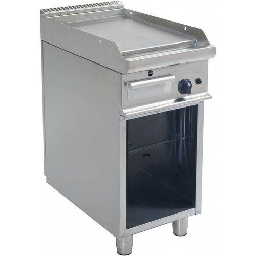 Plaque de cuisson au gaz avec pieds