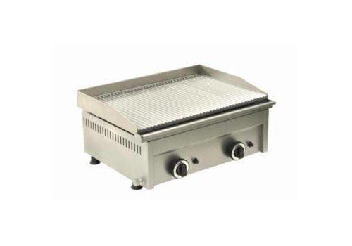 Saro Plaque de cuisson nervurée   gaz   600 x 460 x 250 mm  