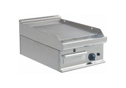 Saro Plaque de cuisson nervurée   gaz   400 x 700 x 270 mm  