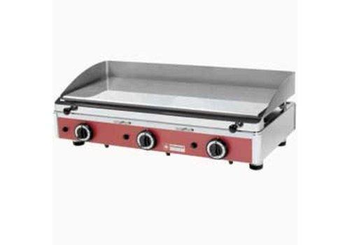 Diamond Plaque de cuisson en acier inoxydable chromé