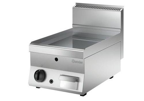 Bartscher Plaque grill gaz 650, L400, lisse