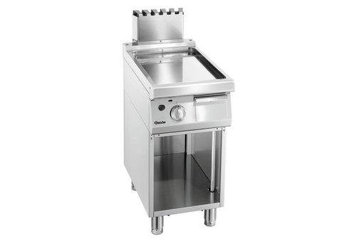 Bartscher Plaque grill gaz 700, L400, lisse