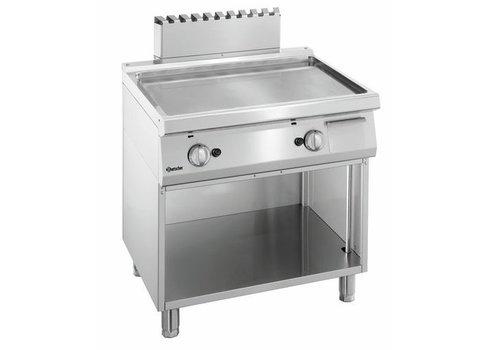 Bartscher Plaque grill gaz 700, L800, lisse