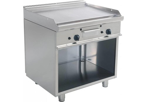 Saro Grill à gaz Double plaque à frire