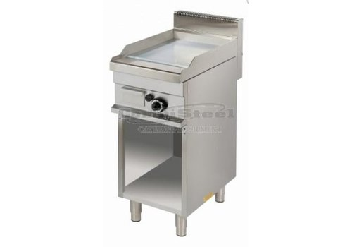 Combisteel Plaques grill   gaz   chrome   400 x 700 x 900 mm  