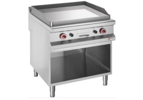 Diamond Plaque de cuisson lisse   gaz   chromée   800 x 900 x 920 mm  