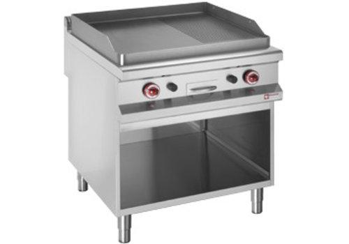Diamond Plaques de cuisson lisse et rainurée | gaz | 760 x 740 x 360 mm |