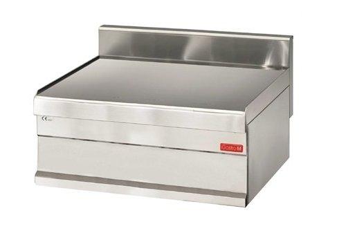Gastro-M Plan de travail avec tiroir   inox   650 x 700 x 280 mm  