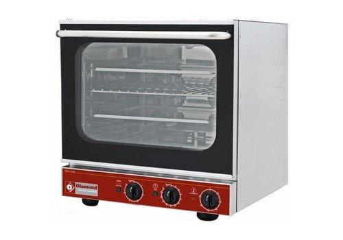 Diamond Electric convection oven, 4x 433x333 mm + salamander