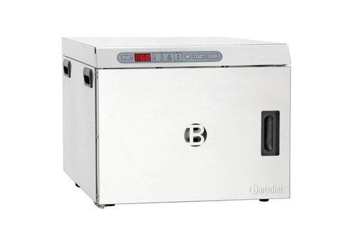 Bartscher Four basse température | 1,2kW | 30 °C a 110 °C | Acier inoxydable | 505 x 715 x 415 mm