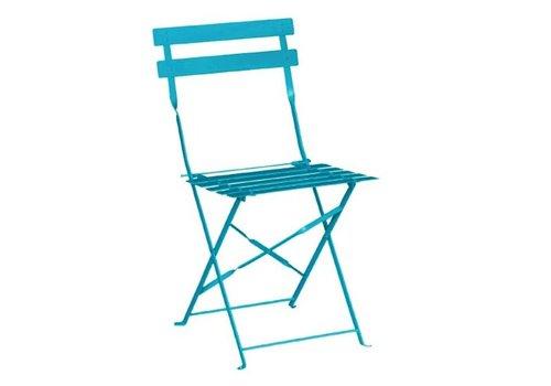Bolero Chaises de terrasse   acier   bleu turquoise