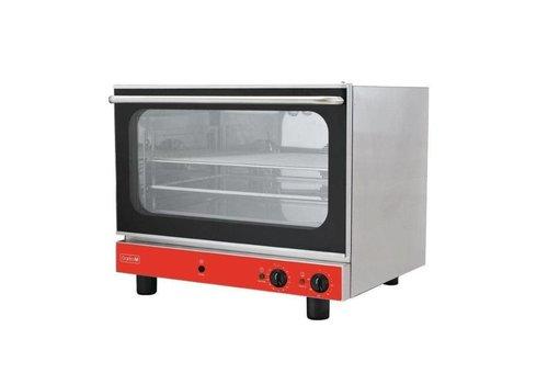 Gastro-M Four électrique à convection avec humidificateur Gastro M 400V | 724(H)x 730(L)x 598(P)mm | Acier inoxydable | 50°C - 300°C