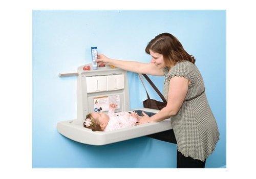 Rubbermaid Page d'accueil   Entretien, hygiène et sécurité   Produits sanitaires   Tables à langer   Table à langer horizontale Rubbermaid Table à langer horizontale