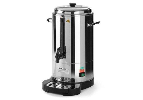 Hendi Percolateur à Double Paroi | 10 Litres | 80 tasses de café