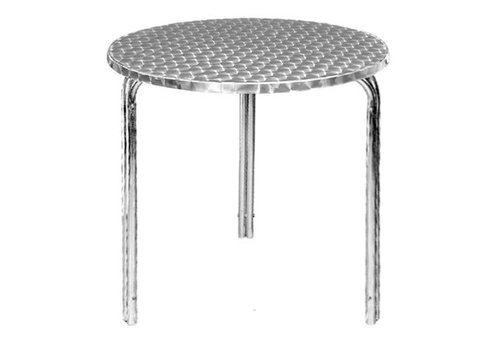 Bolero Table bistro ronde empilable 600mm