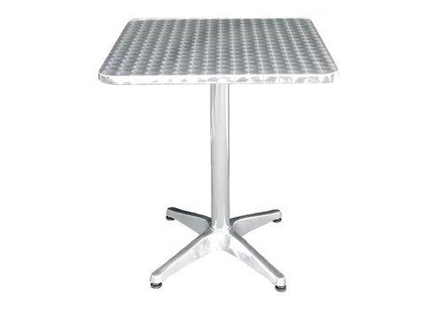 Bolero Table bistro carrée | 600mm