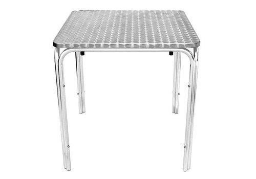 Bolero Table carrée empilable Bolero 700mm