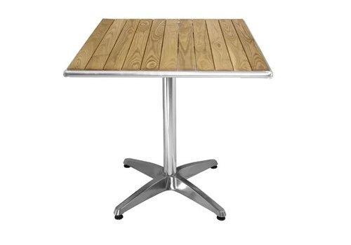 Bolero Table carrée en frêne 600mm