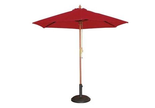 Bolero Parasol rond 2,5m rouge