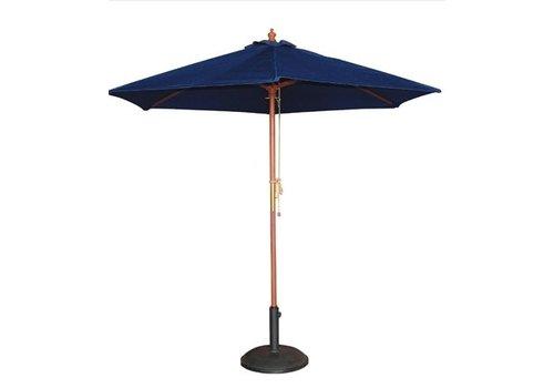 Bolero Parasol | rond | 2,5m | bleu marine
