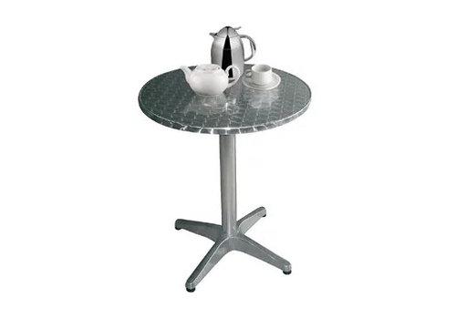 Bolero Table bistro ronde 800mm