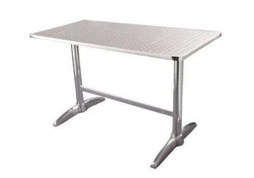 Bolero Table rectangulaire à deux pieds 600mm