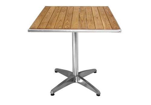 Bolero Table carrée en frêne 700mm