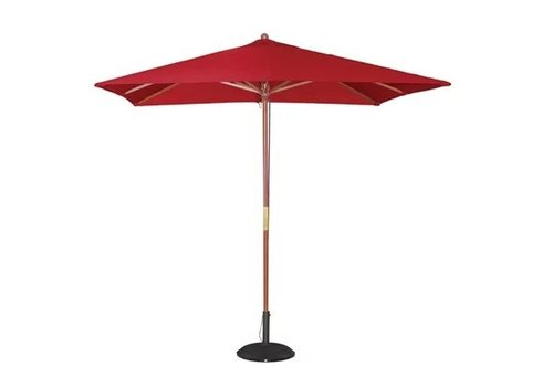 Bolero Parasol carré 2,5m rouge