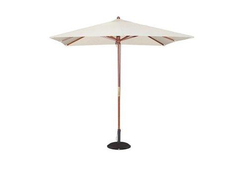 Bolero Parasol carré 2,5m écru