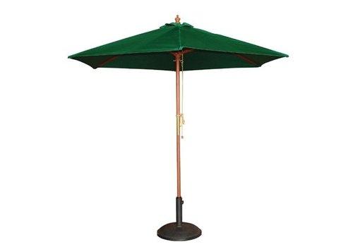 Bolero Parasol rond vert 3m