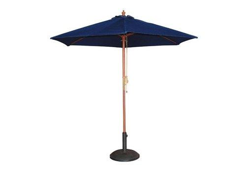 Bolero Parasol rond 3m bleu marine
