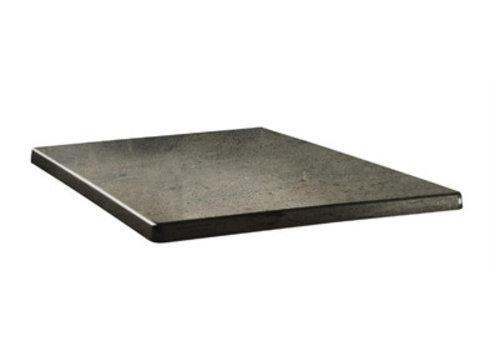 ProChef Plateau de table carré Classic Line béton