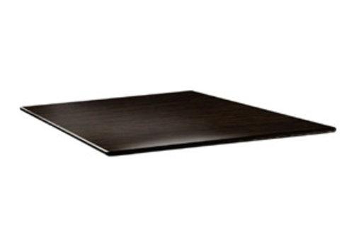 ProChef Plateau de table carré Smartline wengé
